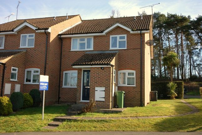 Thumbnail End terrace house for sale in Victoria Court, Bagshot