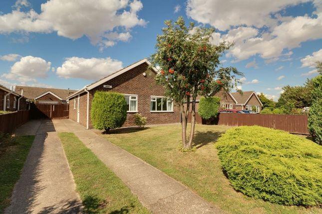 Thumbnail Detached bungalow for sale in College Road, East Halton, Immingham