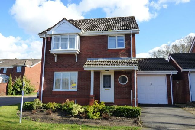 Thumbnail Detached house for sale in St Saviour's Rise, Frampton Cotterell, Bristol