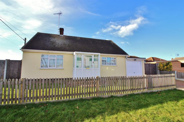 Thumbnail Detached bungalow for sale in Point Road, Canvey Island