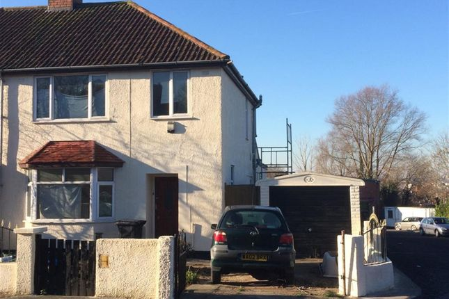 Thumbnail Semi-detached house to rent in Gordon Road, Whitehall, Bristol