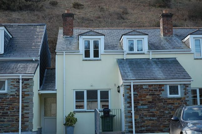 Thumbnail Semi-detached house to rent in Port Gaverne, Port Isaac
