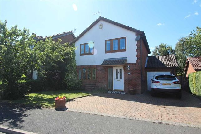 Thumbnail Detached house for sale in Lincoln Road, Northburn Green, Cramlington