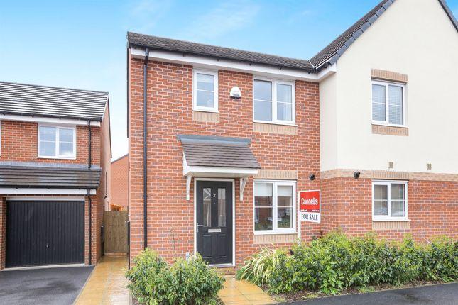 Thumbnail Semi-detached house for sale in School Avenue, Wards Bridge Gardens Wednesfield, Wolverhampton