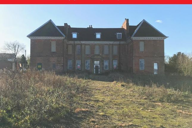 Thumbnail Land for sale in Ollerton Hall, Main Street, Ollerton, Newark, Nottinghamshire