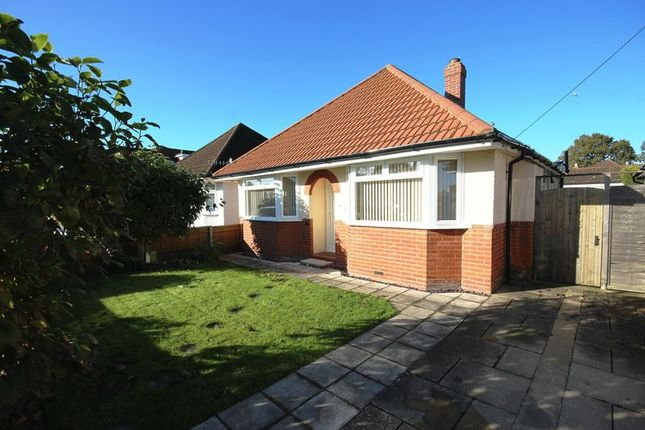 Thumbnail Detached bungalow for sale in Northlands Road, Totton, Southampton