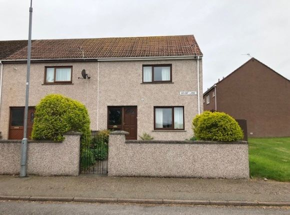 Thumbnail End terrace house to rent in Grant Lane, Lossiemouth