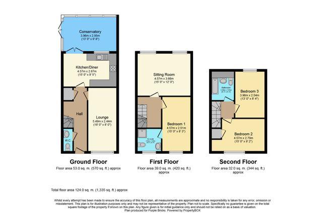 Floor Plan of Maple Walk, Longford, Coventry CV6