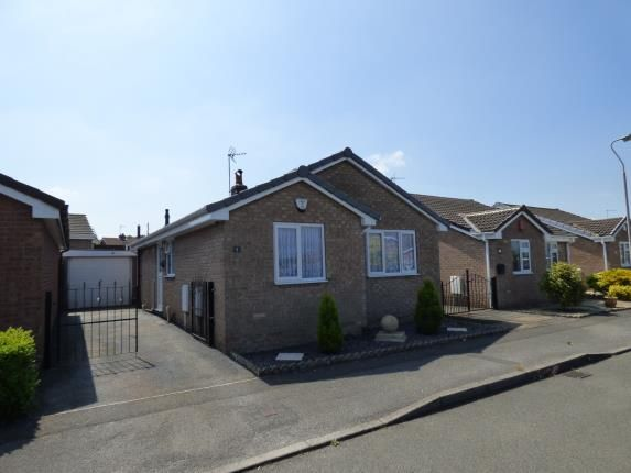 Thumbnail Bungalow for sale in Cardle Close, Forest Town, Mansfield, Nottinghamshire