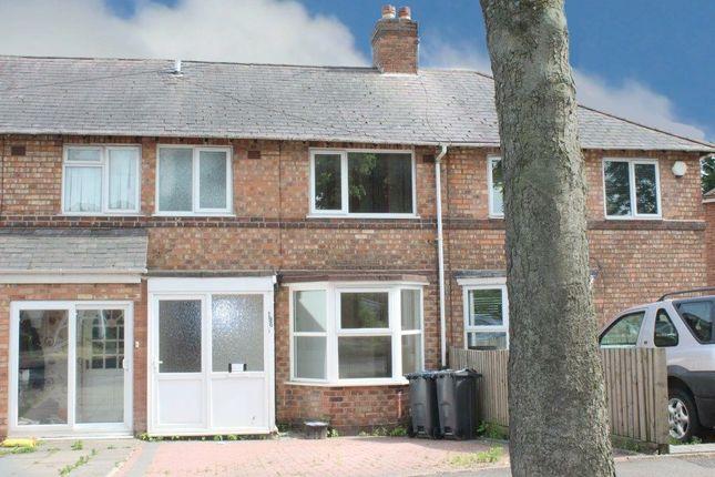 Thumbnail Terraced house for sale in Tavistock Road, Birmingham