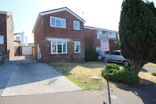 Thumbnail Detached house to rent in The Chase, Brackla, Bridgend.