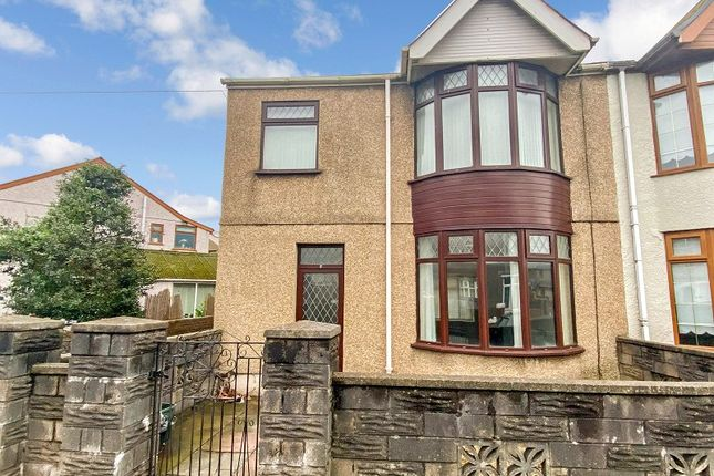 Thumbnail Semi-detached house for sale in Morfa Road, Port Talbot, Neath Port Talbot.