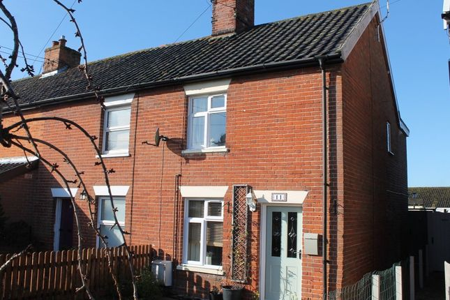 Thumbnail End terrace house for sale in Heywood Road, Diss
