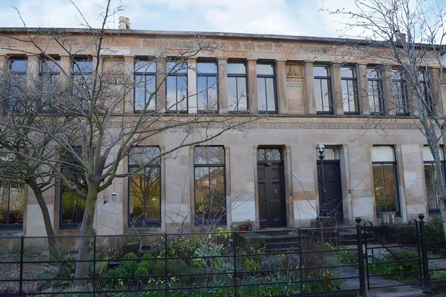Thumbnail Terraced house for sale in Moray Place, Glasgow