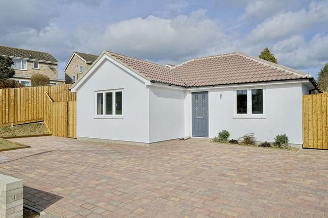 Thumbnail Detached bungalow for sale in Mayfield Road, Huntingdon, Cambridgeshire.