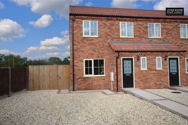Semi-detached house for sale in Garden Village, North Killingholme, Immingham