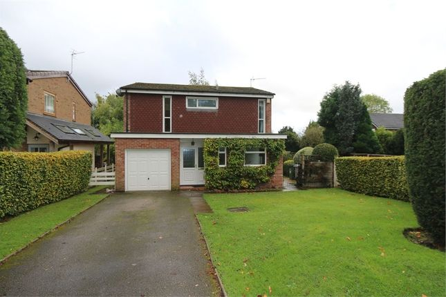 Thumbnail Detached house to rent in Wilmslow Park North, Wilmslow, Cheshire