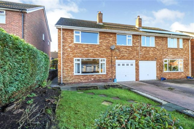 Thumbnail Semi-detached house for sale in Repton Drive, Haslington, Crewe