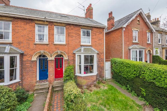 Thumbnail Semi-detached house for sale in York Road, Bury St. Edmunds