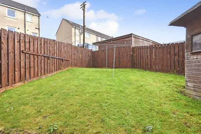 Rear Gardens of Anderson Crescent, Queenzieburn, Kilsyth, Glasgow G65