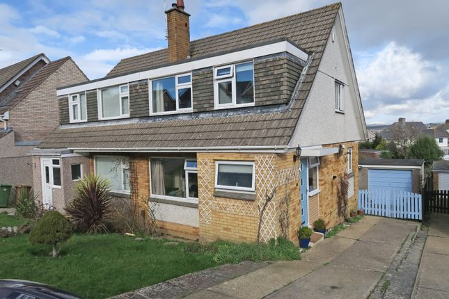 Thumbnail Semi-detached house for sale in Lalebrick Road, Hooe, Plymouth, Devon
