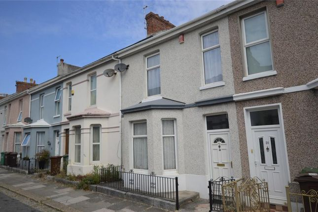 Thumbnail Terraced house for sale in Desborough Road, Plymouth, Devon