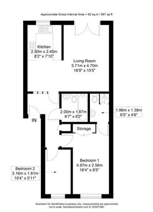 Floorplan of Riverside View Apartments, 1 Riverside View, Accrington, Lancashire BB5