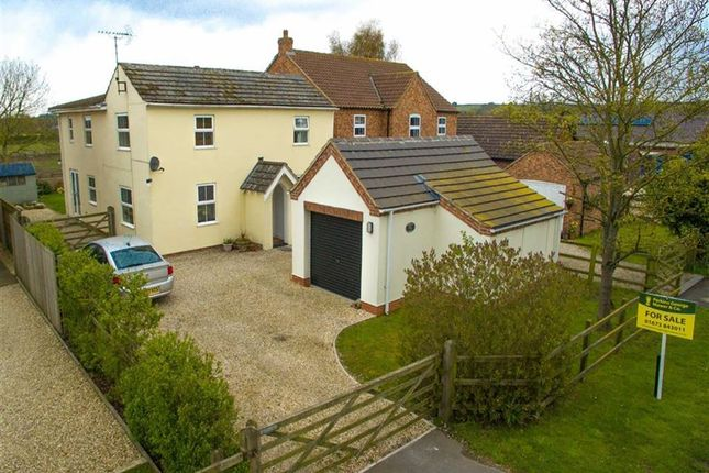 Thumbnail Detached house for sale in North Kelsey Road, Caistor