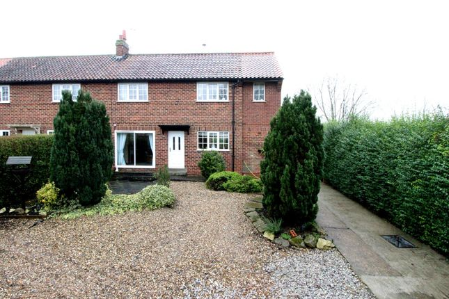 Thumbnail Semi-detached house for sale in Well Lane, Tibthorpe, Driffield
