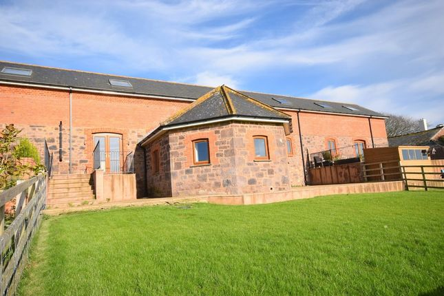 Thumbnail Barn conversion for sale in Clyst St. Lawrence, Cullompton
