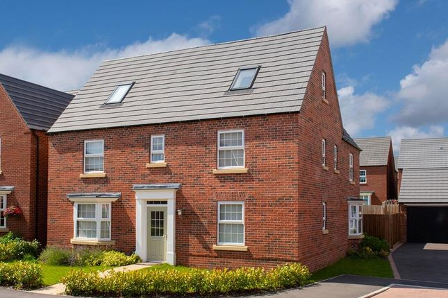 "Thumbnail Detached house for sale in ""Moorecroft"" at Fosse Road, Bingham, Nottingham"