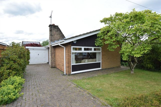 Thumbnail Detached bungalow for sale in Steam Mill Lane, Ripley, Derbyshire