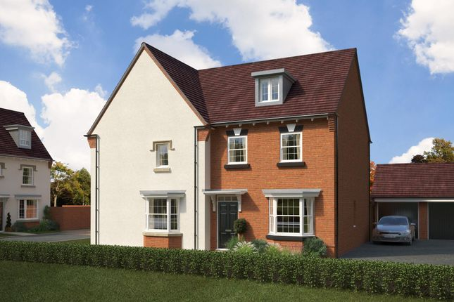 """Thumbnail Semi-detached house for sale in """"Kennett"""" at St. Lukes Road, Doseley, Telford"""