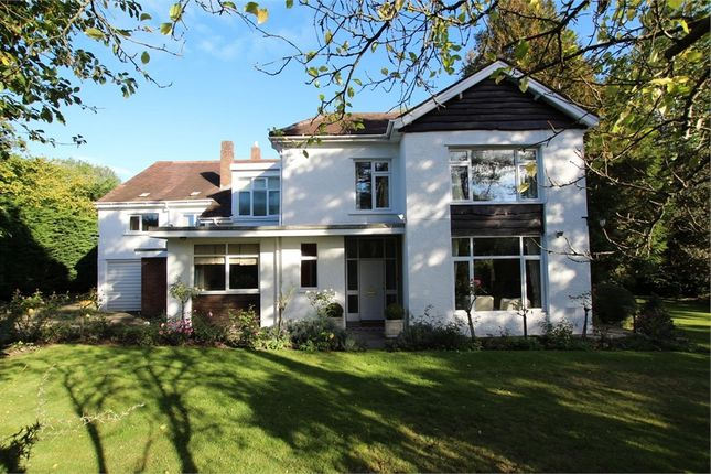Detached house for sale in Hollybush Road, Cyncoed, Cardiff