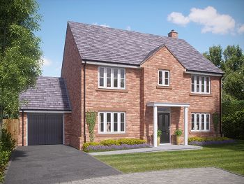 Thumbnail Detached house for sale in Church View, Church Street, Davenham