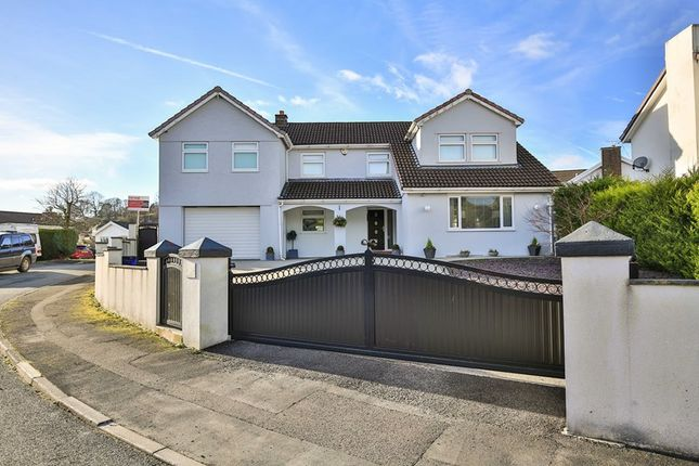Thumbnail Detached house for sale in Castell Morlais, Pontsticill, Merthyr Tydfil