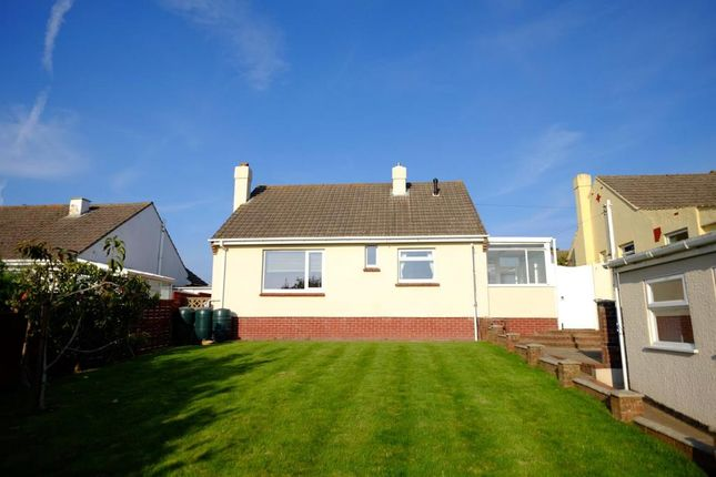 Thumbnail Detached bungalow for sale in Haytor Drive, Newton Abbot, Devon