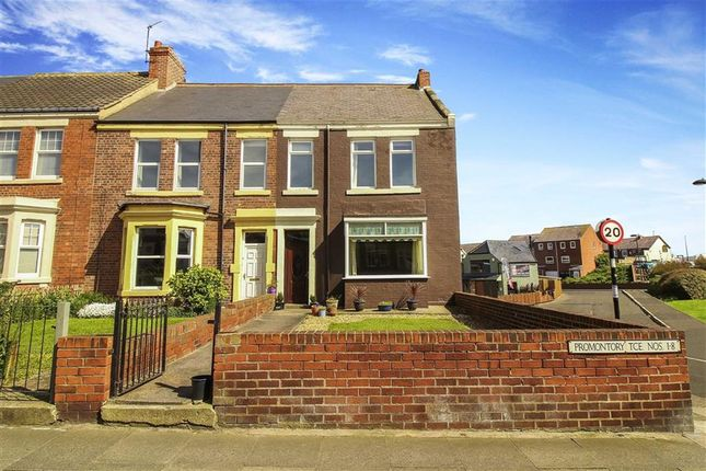Thumbnail Terraced house for sale in Promontoryterrace, Whitley Bay, Tyne And Wear