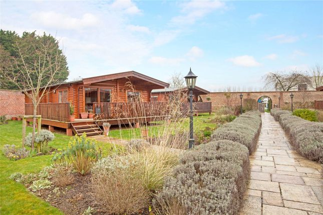 Thumbnail Detached bungalow for sale in The Walled Garden, Harleyford, Henley Road, Marlow