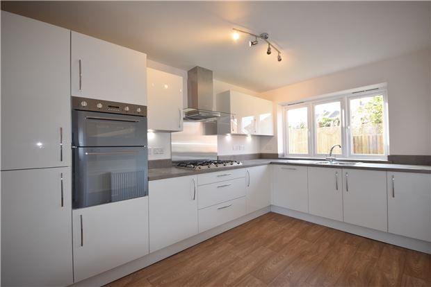 Thumbnail Detached house for sale in Plot 21 The Burford, Charlotte Mews, Heath Rise, Cadbury Heath, Bristol