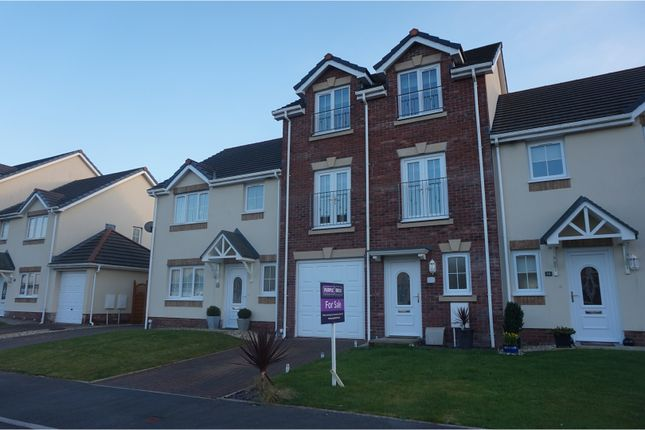 Thumbnail Town house for sale in Clos Y Gerddi, Llanelli
