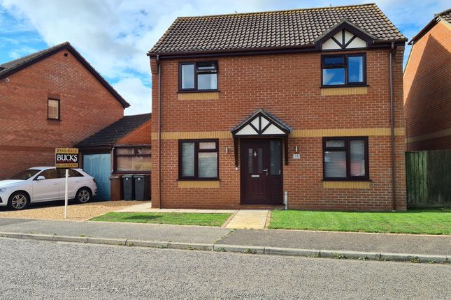 Detached house for sale in Thackeray Grove, Stowmarket
