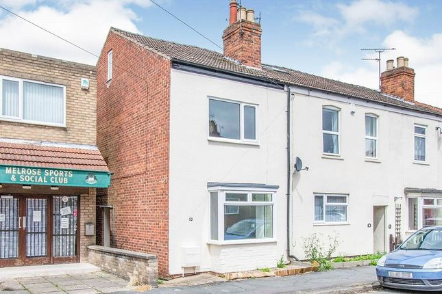 Thumbnail Terraced house to rent in Melrose Road, Gainsborough