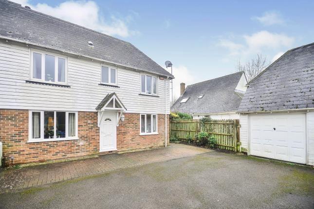 Thumbnail End terrace house for sale in Badgers Oak, Ashford, Kent, .