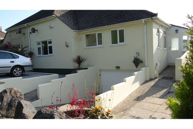 Thumbnail Semi-detached bungalow for sale in Collaton Road, Torquay