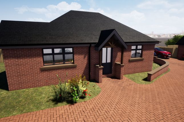 Thumbnail Detached bungalow for sale in Plot 3, New Builds, Haddon Street, Sutton-In-Ashfield