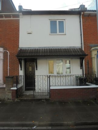 Thumbnail Terraced house to rent in Oliver Road, Southsea