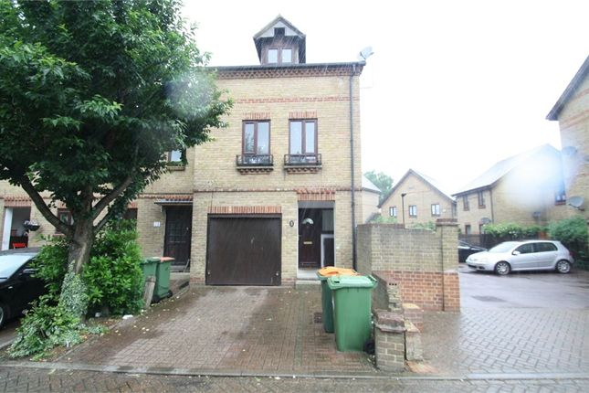 Thumbnail Terraced house for sale in Bowyer Close, East Ham, London