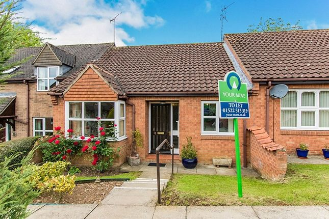 Thumbnail Bungalow to rent in Heritage Court, Navenby, Lincoln