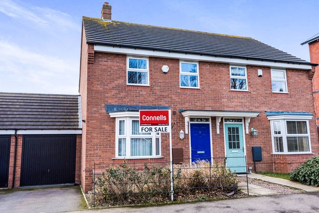 Thumbnail Semi-detached house for sale in All Saints Way, West Bromwich